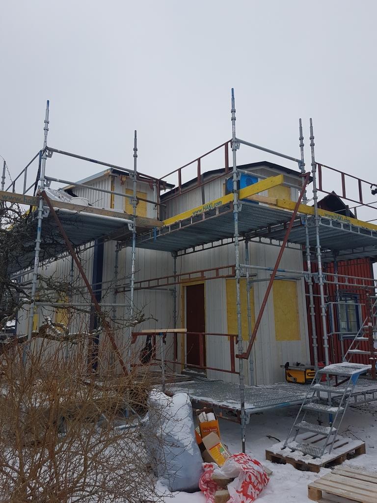 Tillbyggnad villa på Söder