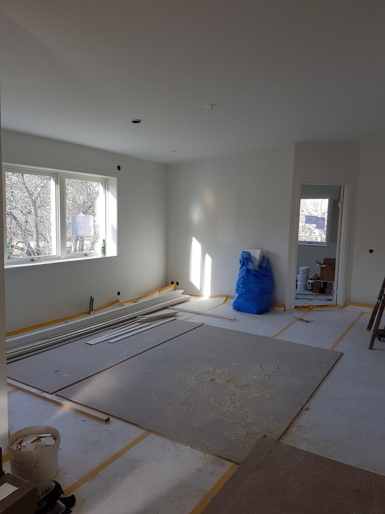 Påbyggnad våning på villa i Växjö